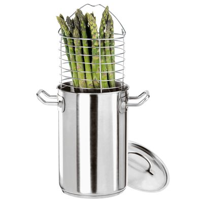 Pentola alta cuoci asparagi