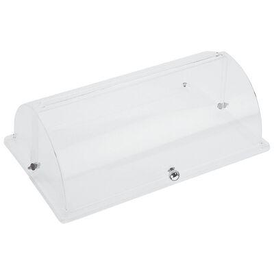 Roll top lid