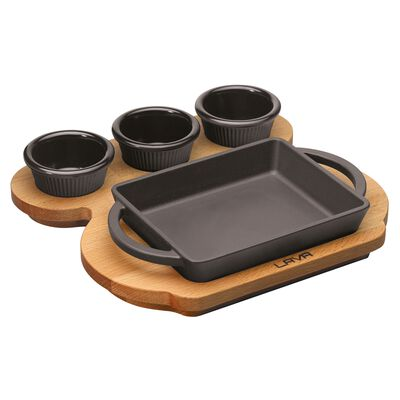 Sauce pan with stand