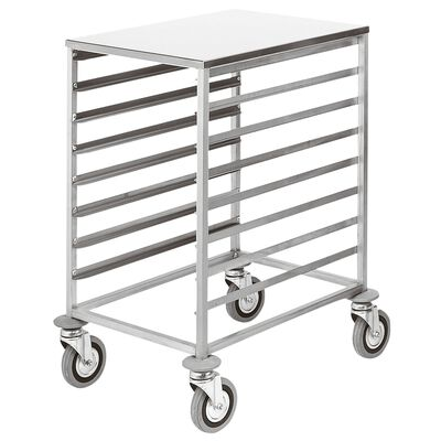 Trolley for baking sheet