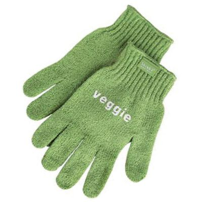Gloves for scrubbing