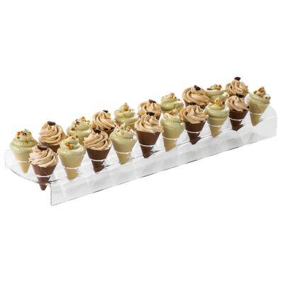 Espositore per vetrina gelato