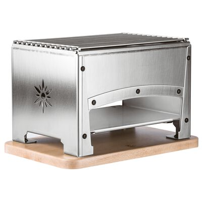 Table barbecue for indoor use