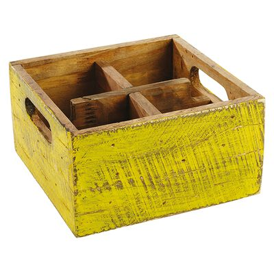 Container with 4 compartments