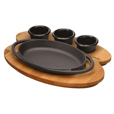 Platter with stand