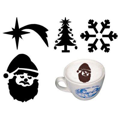 Mini stencils cappuccino