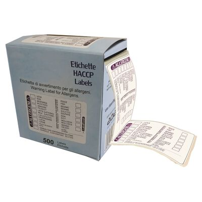 Etichette 14 allergeni