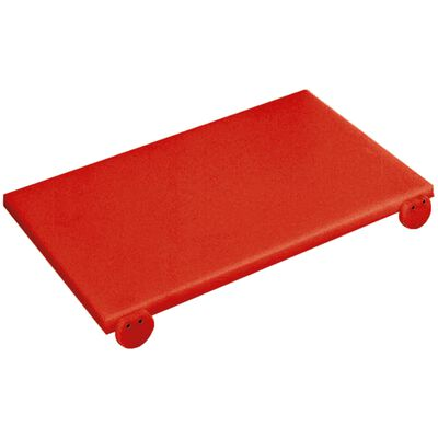 Cutting board with stoppers