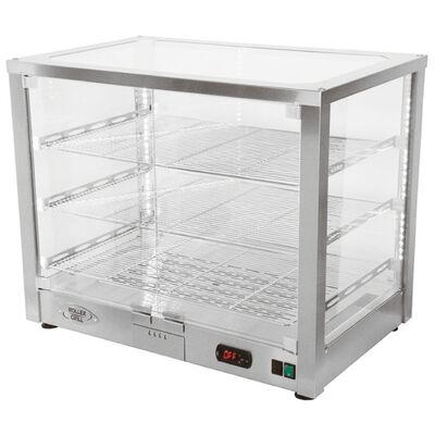 Warming display ventilated