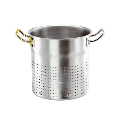 Colander for low stock pot
