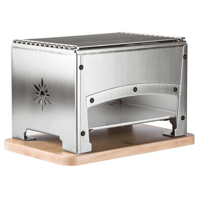 Table barbecue for outdoor use