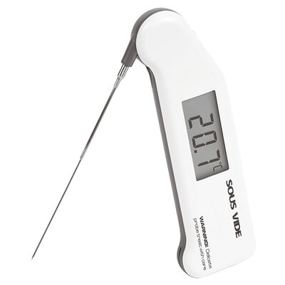 Thermometer for sous-vide cooking