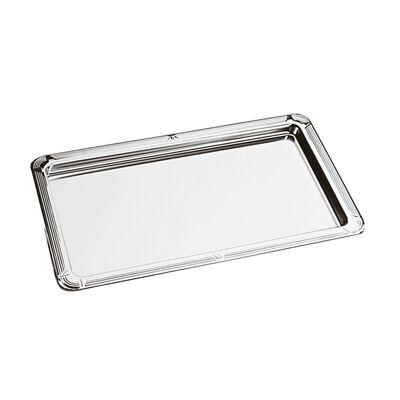 Tray with deko-edge