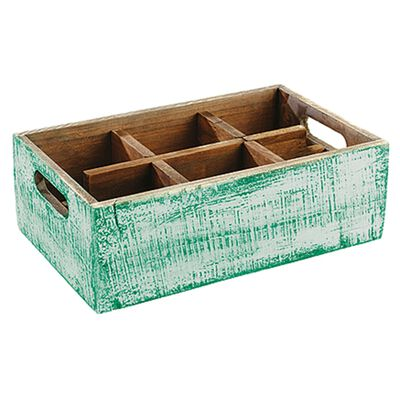 Container with 6 compartments