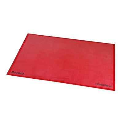 Silicone baking sheet microperforated