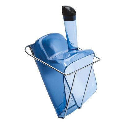 Ice scoop with holder