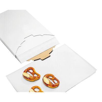 Baking paper siliconized